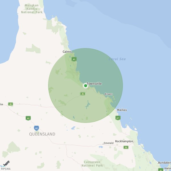 Range Map Not Available For This Airfield