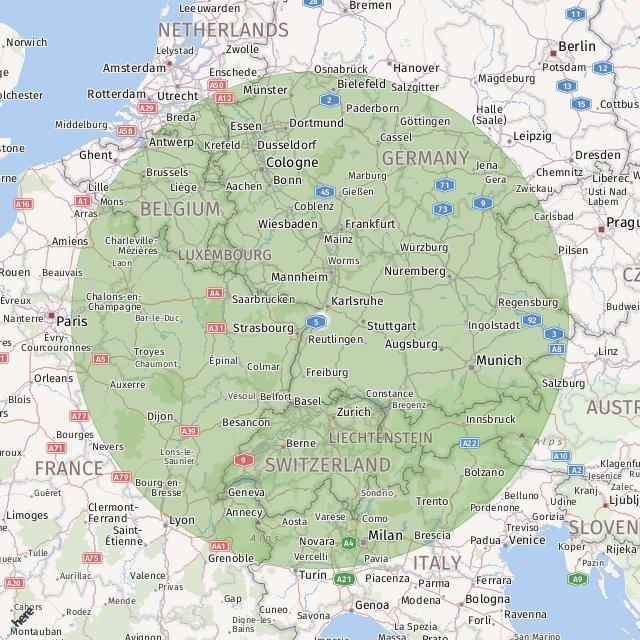 Map Of Germany Karlsruhe Baden.Karlsruhe Baden Baden Helipad Helicopter Charter Service Karlsruhe