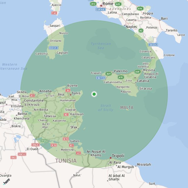 Cartina Michelin Italia.Pantelleria Italy Map