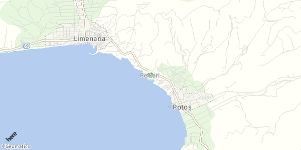 HERE Map of Πευκάρι, Greece