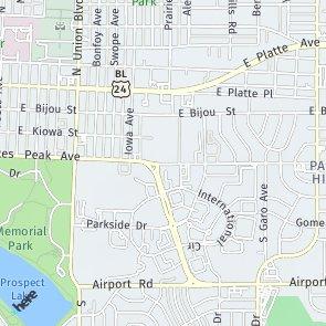 US Bank Branch COLORADO SPRINGS CO Neustar Localeze - Us bank branch locations map